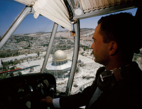 Israel annekterar delar av Västbanken