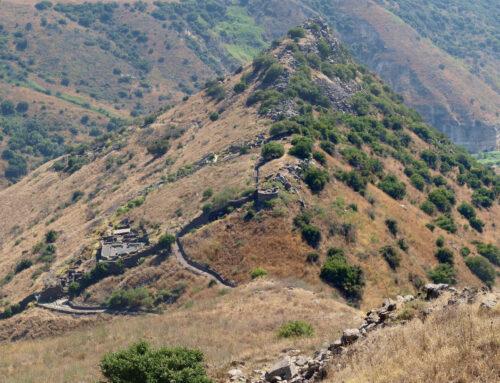 Golan var en israelisk fristad