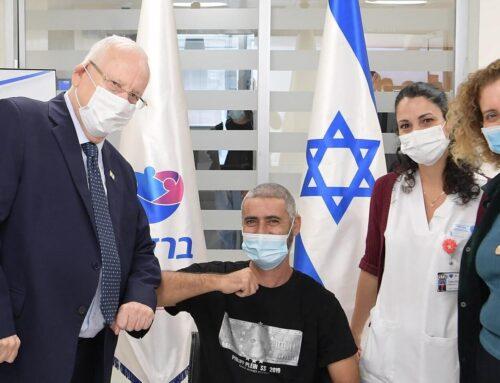 Israel har vaccinerat flest