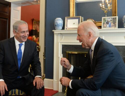 Biden prioriterar Israel