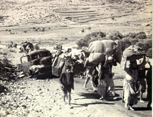 The origin of the Palestinian refugee issue