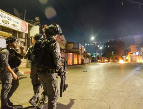 Gaza-konflikt ledde till konfrontationer i själva Israel
