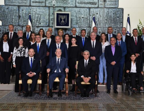 Stora utmaningar för Israels nya regering